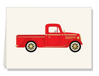 Personalized Truck Folded Notes