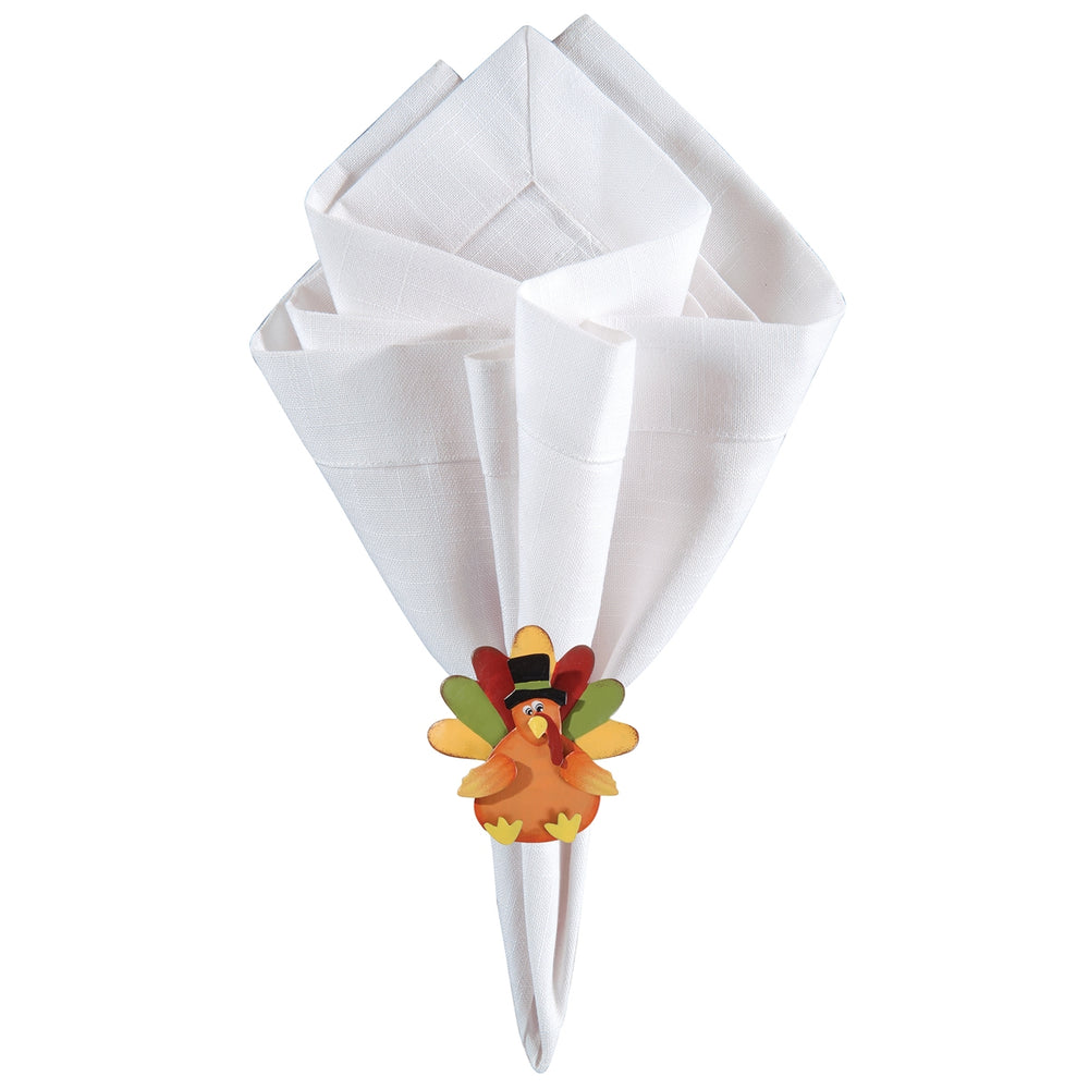 Turkey Napkin Ring S/4