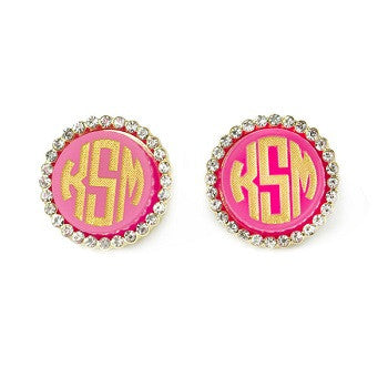Monogrammed Vannes Earrings