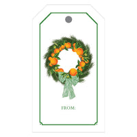 Citrus Wreath Gift Tags