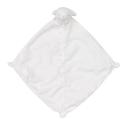 Personalized White Lamb Blankie