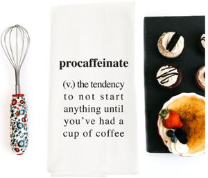 Procaffeinate Tea Towel
