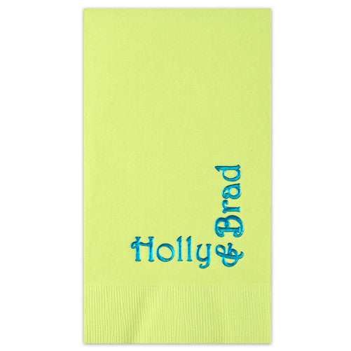 Blissful Personalized Guest Towel