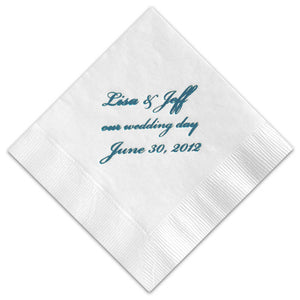 Expression Personalized Beverage Napkins