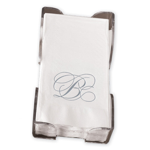 Silver Flourish Guest Towels