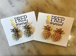Pineapple Pearl Pop Earrings