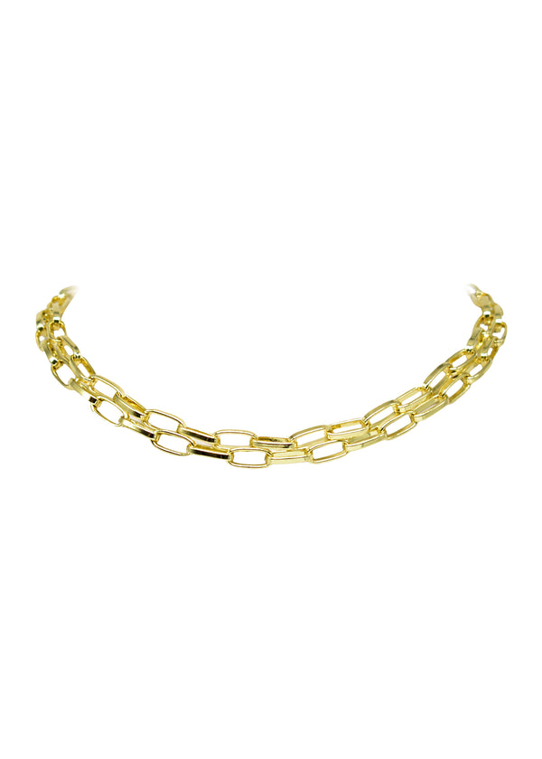 Evolve Angelina Double Choker Necklace (Fresh) (COL)
