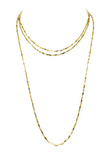 ANYA DOUBLE TIME CHOKER NECKLACE (Fresh)