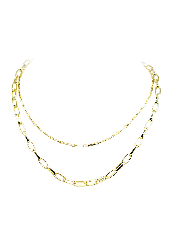 ANYA ANGELINA TIER NECKLACE (FRESH)