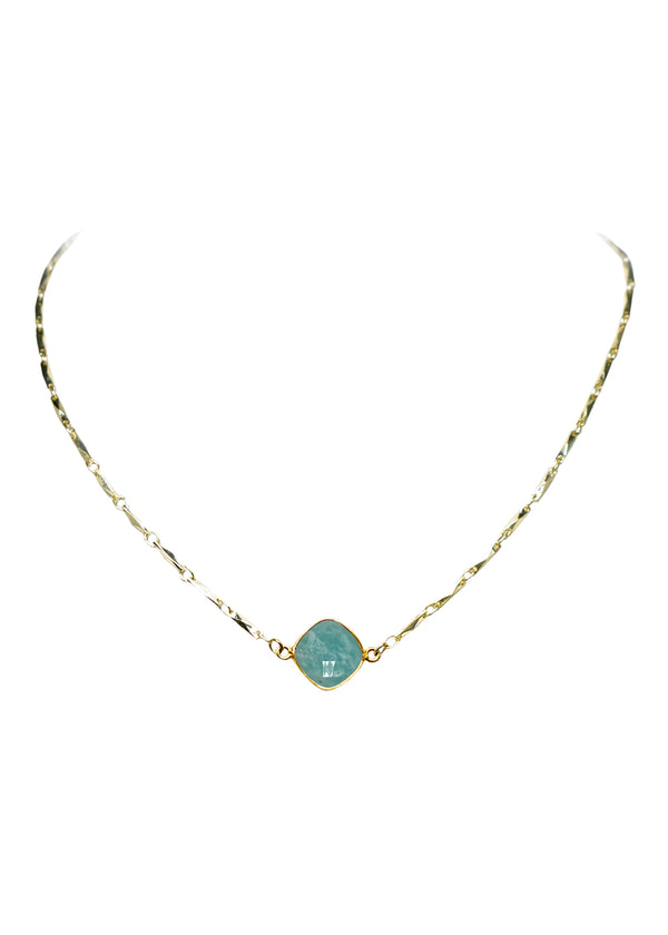 ANYA CELESTE NECKLACE AMAZONITE