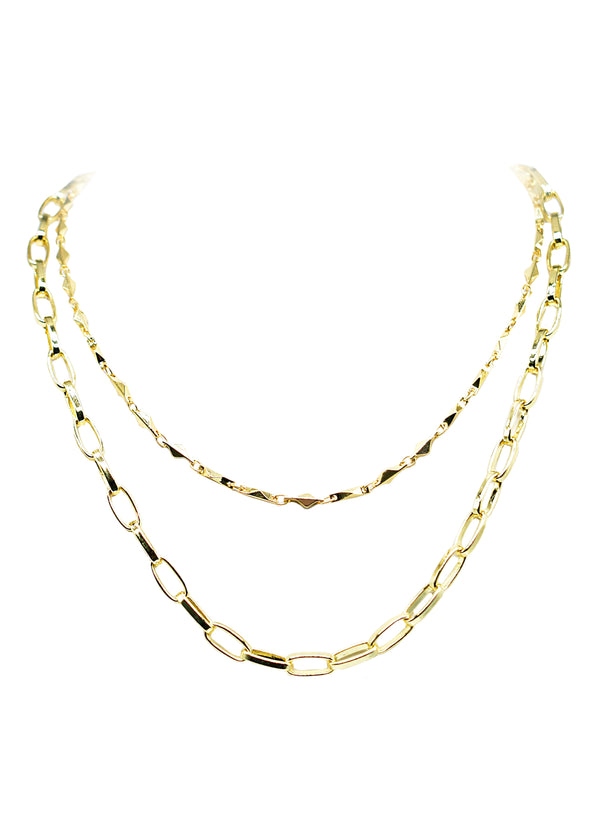 ARIANNA ANGELINA TIER NECKLACE (FRESH)