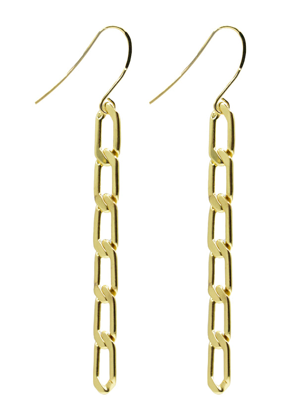 Evolve Jasper Chain Earring Long (Fresh) (COL)