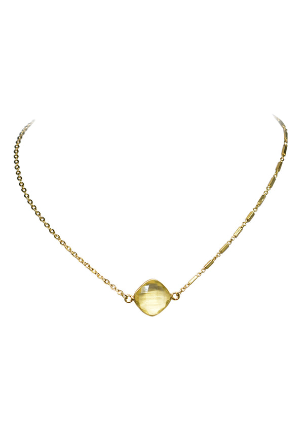 MARTIA MIX CELESTE NECKLACE LEMON