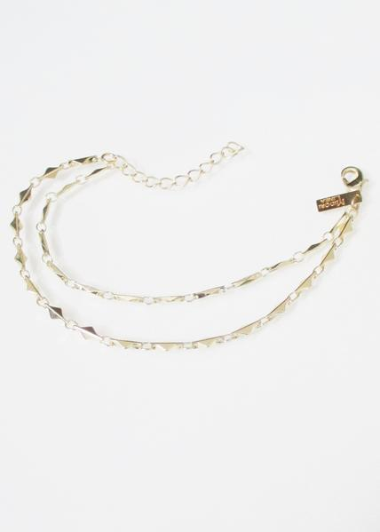 ANYA ARIANNA TIERED ANKLET WHOLESALE