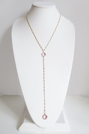 MG ANYA CELESTE Y NECKLACE ROSE PINK