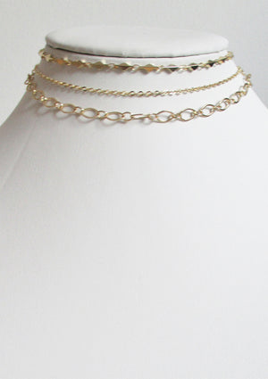 CLASSIC CABLE CHOKER NECKLACE