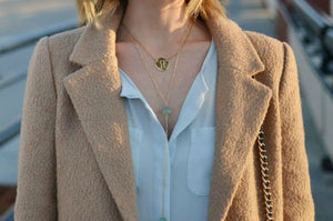 CECELIA Y NECKLACE CITRINE LEMON