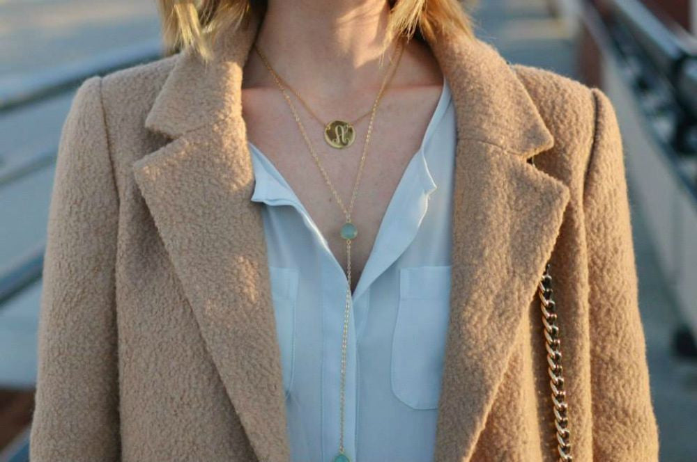 CECELIA Y NECKLACE CLEAR QUARTZ
