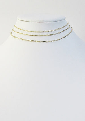 CABLE CHOKER NECKLACE
