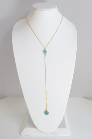 CECELIA Y NECKLACE AMAZONITE