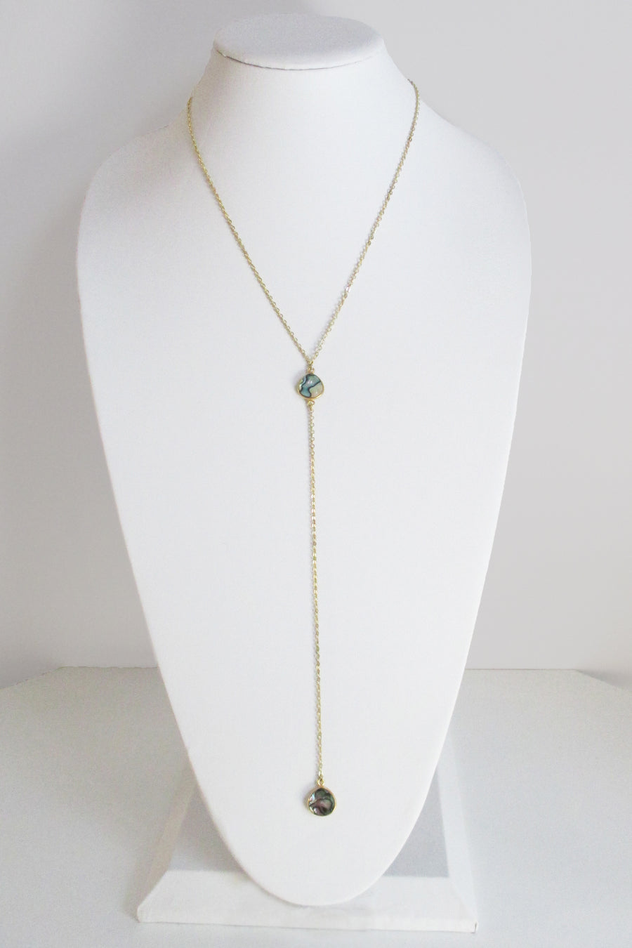 CECELIA Y NECKLACE ABALONE SHELL