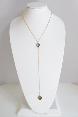 CELESTE Y NECKLACE ABALONE SHELL