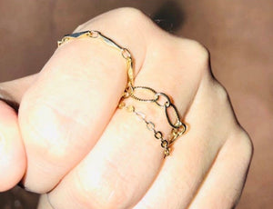 Haley Chain Ring