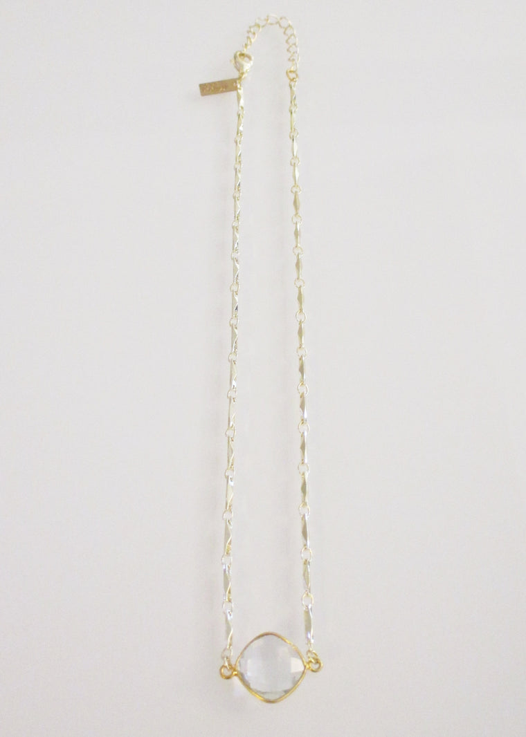ANYA CELESTE NECKLACE CLEAR  (SOLD OUT)
