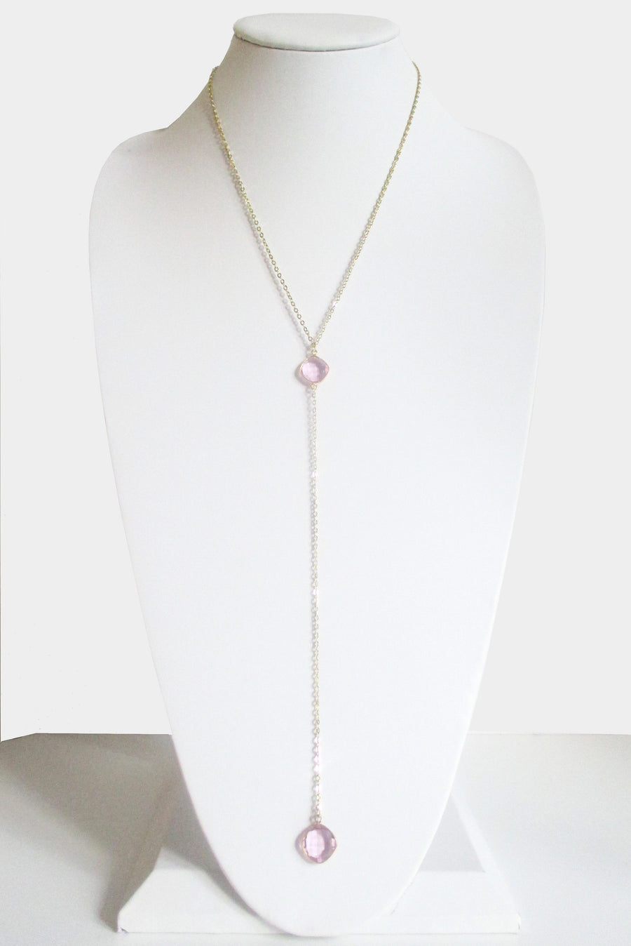 CELESTE Y NECKLACE ROSE PINK