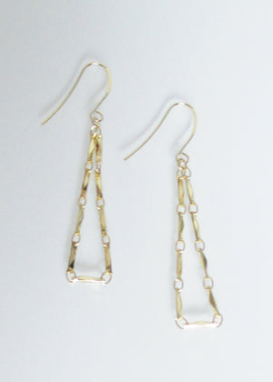 LIVEOUTLOUD ANYA TRIANGLE EARRINGS
