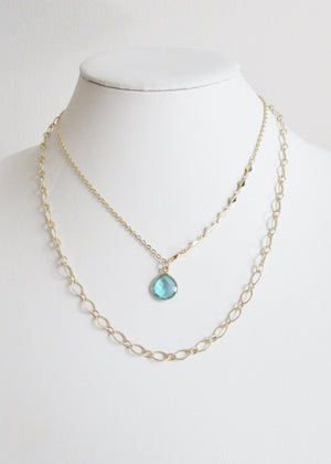 CLASSIC CABLE MID LENGTH NECKLACE
