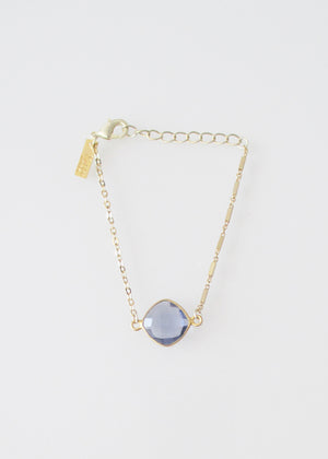 LIVEOUTLOUD MIXED CHAIN CELESTE PURPLE IOLITE