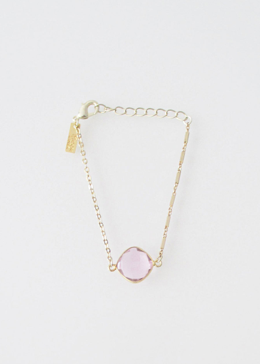 LIVEOUTLOUD MIXED CHAIN CELESTE ROSE PINK