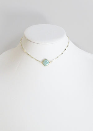 MARTIA CHOKER NECKLACE AMAZONITE