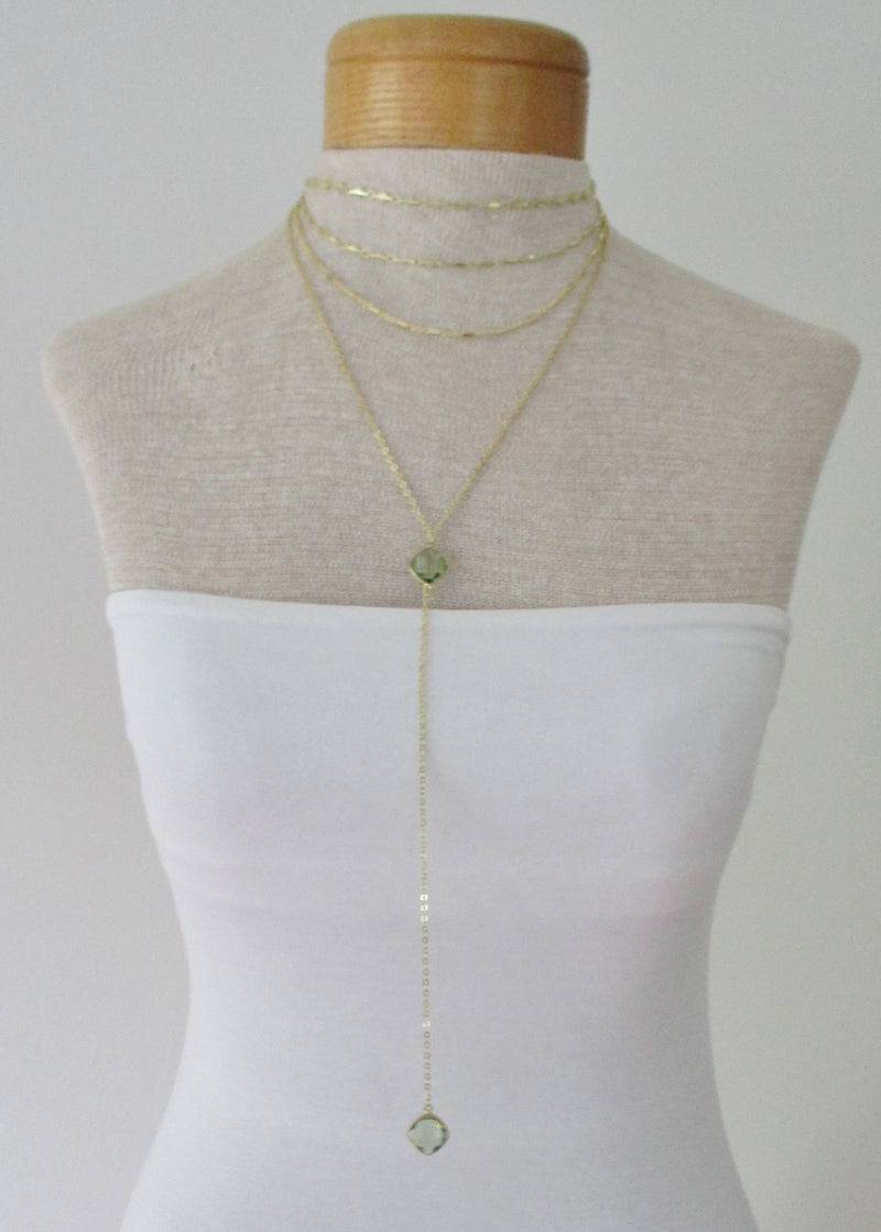 TIERED CHOKER NECKLACE