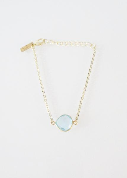 CECELIA BRACELET BLUE TOPAZ (SOLD OUT)