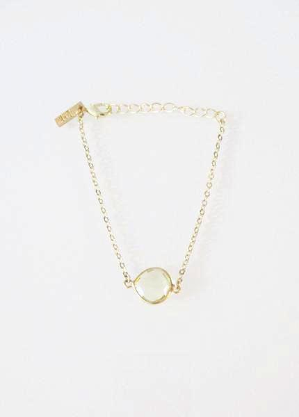 CECELIA BRACELET CITRINE LEMON (SOLD OUT)