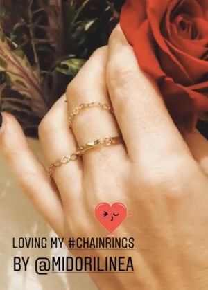Arianna Solo Chain Ring