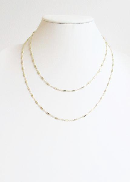 SL KARA DOUBLE TIERED MID LENGTH NECKLACE