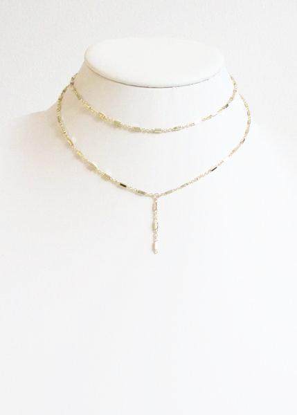 MG KARA Y CHOKER NECKLACE (SOLD OUT)
