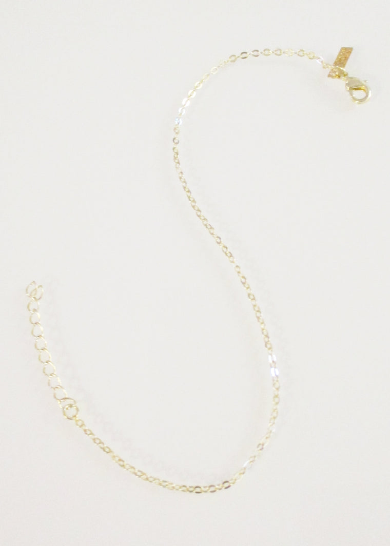 Cable Chain Anklet (SOLD OUT)