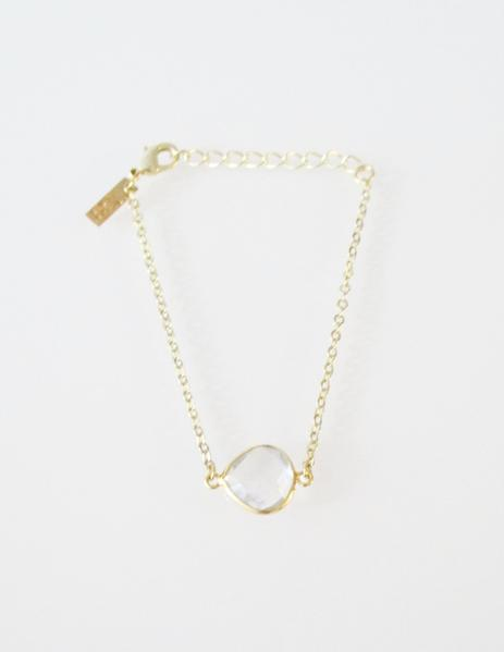 CECELIA BRACELET CLEAR (SOLD OUT)