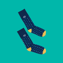 Kibana Socks - Blue Dot Graph