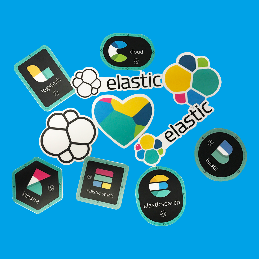 Elastic Stack - Sticker Pack
