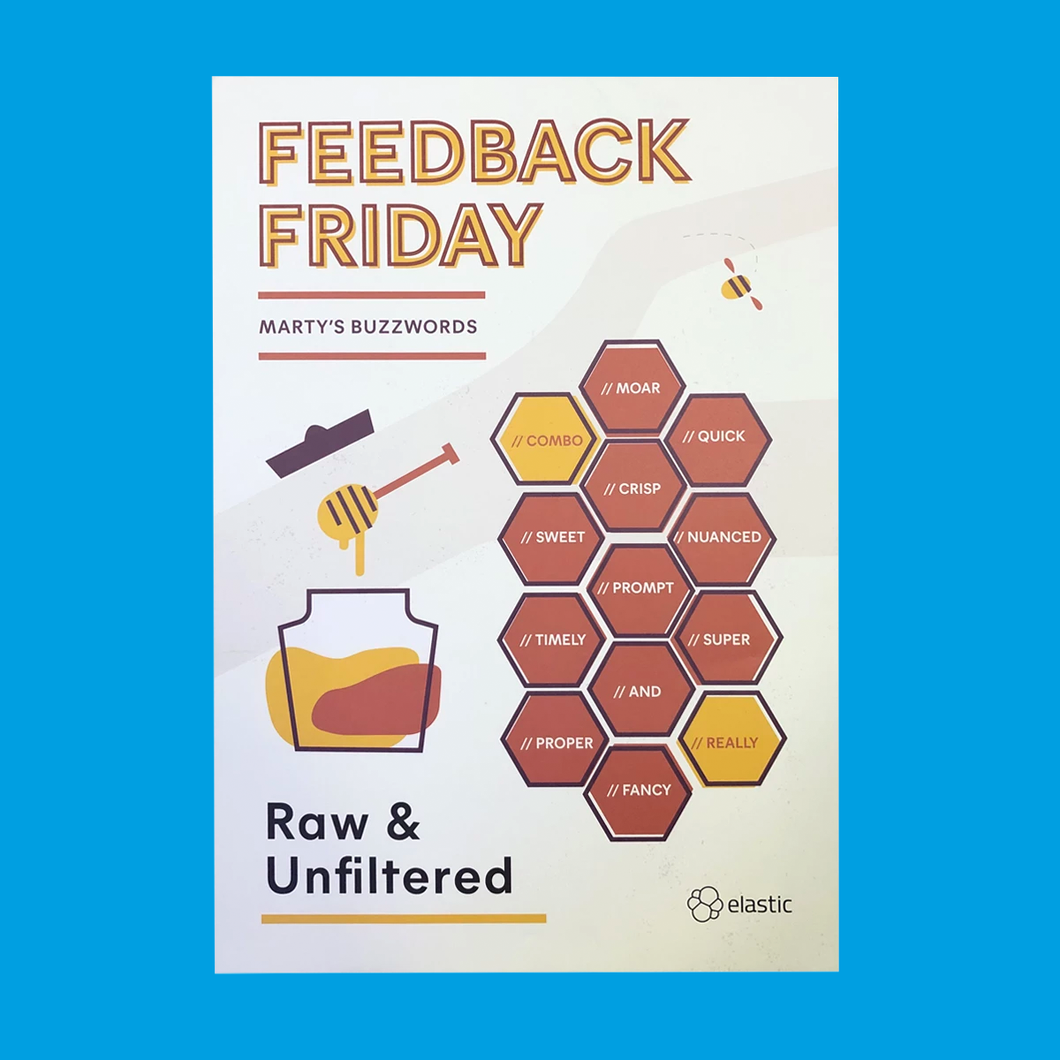 Feedback Friday Poster