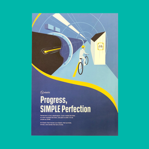 Poster - Progress Simple Perfection