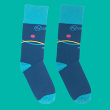 Kibana Sock - Blue Line Graph