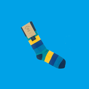 Elastic Socks - Striped