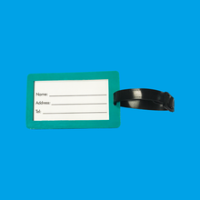 Elastic 2D Luggage Tag