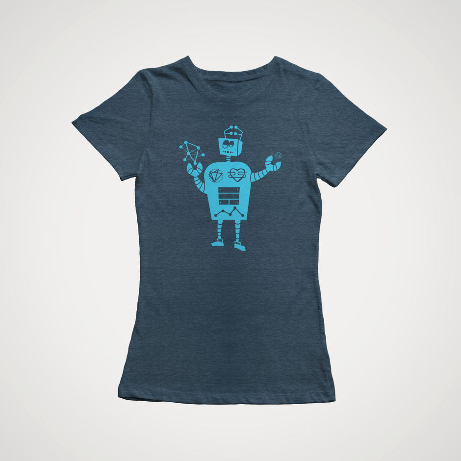 Robot T-Shirt - Fitted